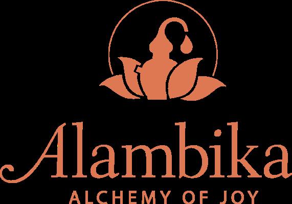 Alambika -alchemy of joy + logo